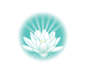 The Healing Space logo - jade