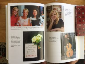 Gemma Dowler's book 'My Sister Milly' showing a photo with her EMDR Therapist Michelle Calvert