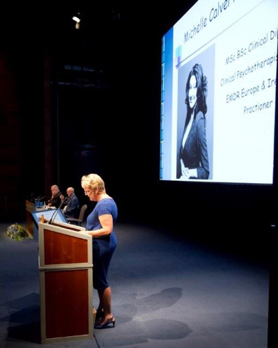 Sally Dowler's presentation at the EMDR conference - she spoke about the EMDR treatment she & Gemma Dowler had with Michelle